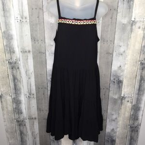 ANTHRO Uncle Frank embroidered sundress